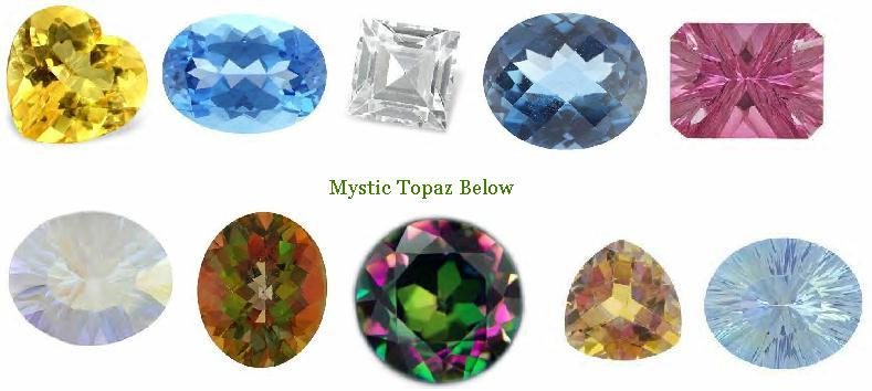 topaz and jewelry information mystic gemstone gem large gemselect info