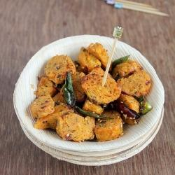 CABBAGE MUTHIA SNACKS FOR DIABETICS